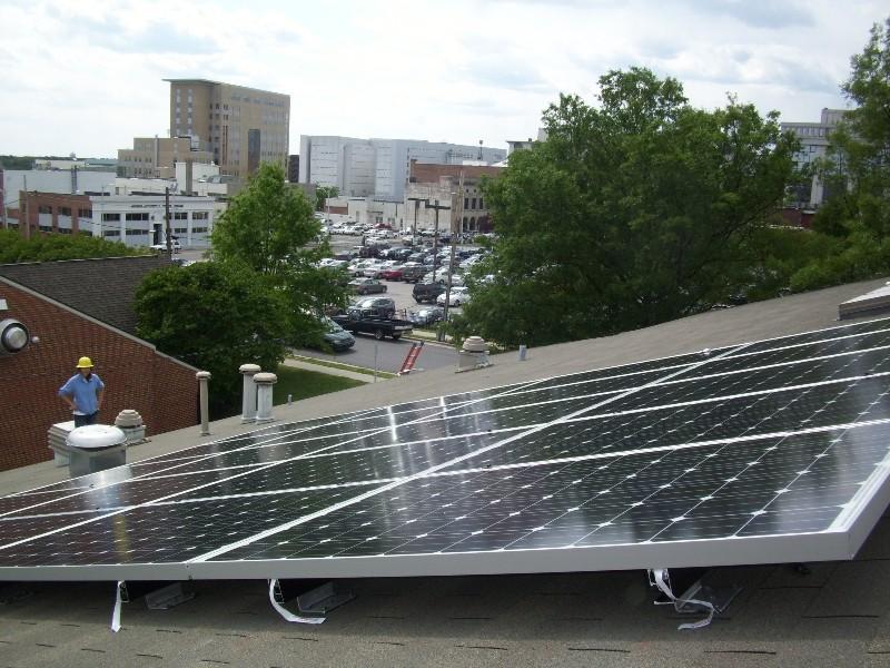 Rooftop Installation, Urban Ministries, Durham, NC