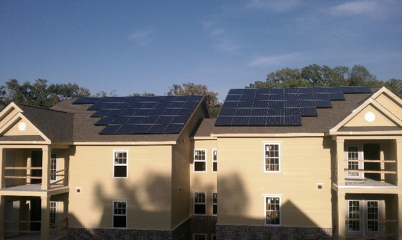 Affordable Housing Solar Project in South Carolina