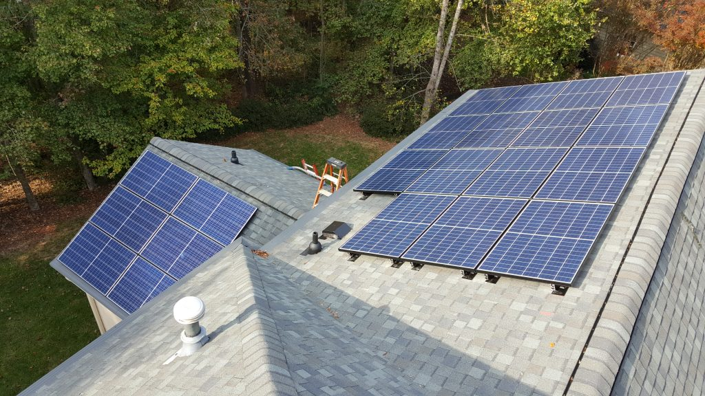 REC Solar Panels Installation