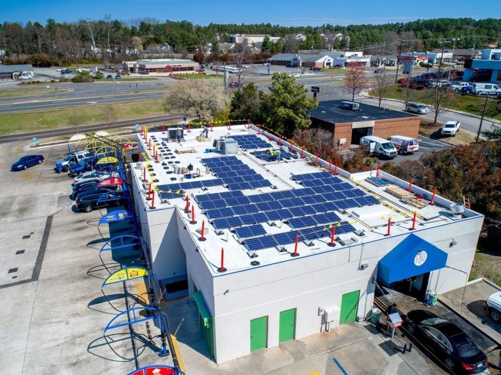 Ritz Car Wash Solar System, Durham, North Carolina